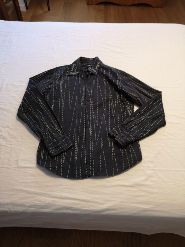 camisa caballero desigual
