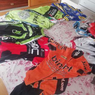 vendo equipaciones de ciclista