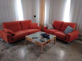 conjunto sofás 2 y 3 plazas