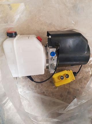 Bomba hidráulica de aceite 12V