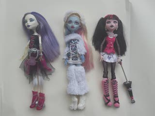 muñecas Monster High basicas Mattel