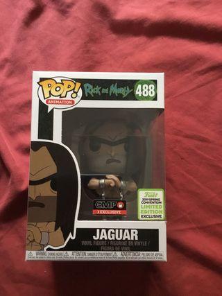 Funko pop jaguar rick and morty