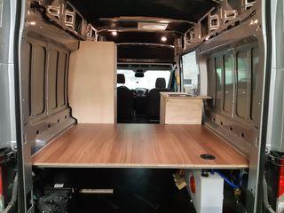 Muebles y cama para Ford Transit 2014