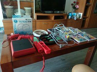 Wii mini roja (todo incluido)