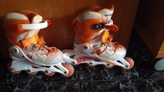 patines dos en uno.