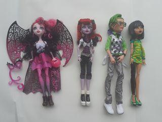muñecas Monster High Mattel