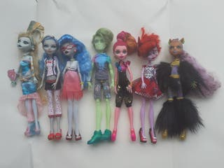 muñecas Monster High Mattel