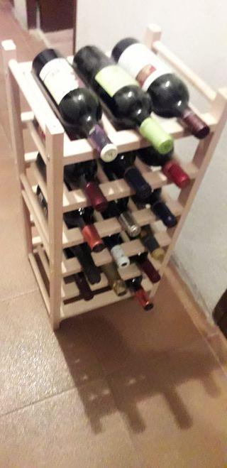 Botellero Ikea (18 botellas) incluye 18 botellas