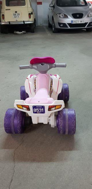 moto de 4 ruedas para niñas