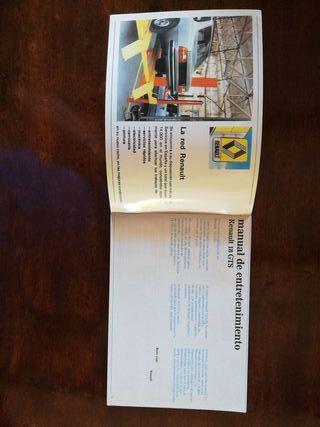 Manual de Entretenimiento Renault 18