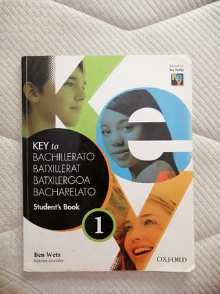 Libro de Inglés Key to Bachillerato