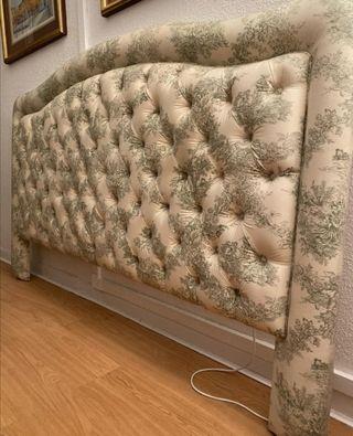 ¡URGE! Cabecero de madera tapizado