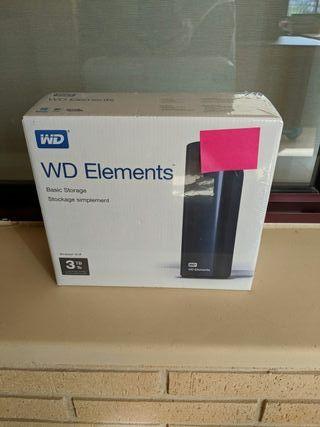 Disco Duro Externo WD Básico 3tb USB 3.0