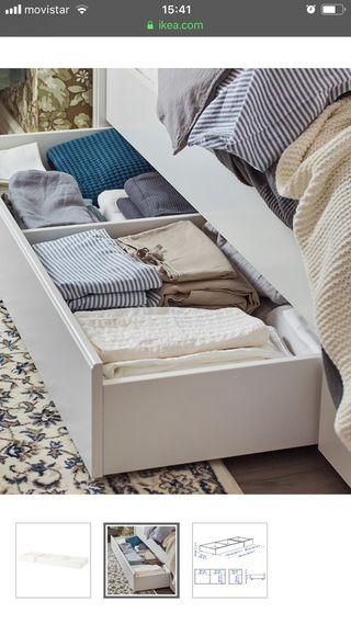 Cajón de cama Ikea