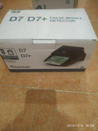 detector de billetes falsos electrónico