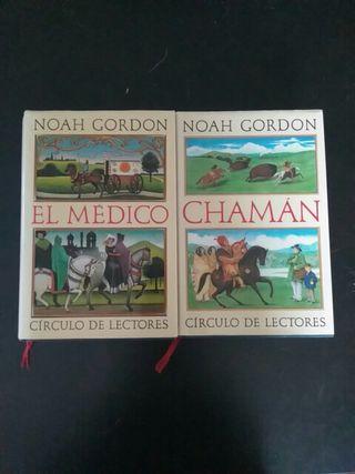 Libros Noah Gordon. El médico. Chamán.