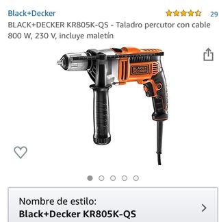 Taladro Black&Decker 800w