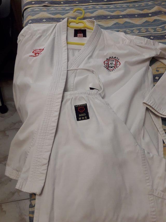 traje para karate