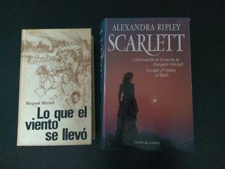 Libros Lo que el viento se llevó + Scarlett