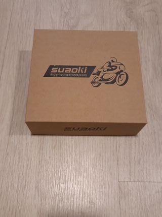 Intercomunicador casco moto SUAOKI