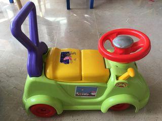 andador correpasillos coche peppa pig
