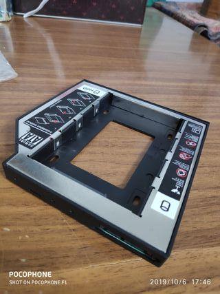 Adaptador disco duro 2.5' para portátil