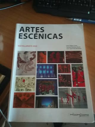 Libro de artes escénicas bachillerato