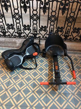 SK8 Hoverboard + Kart