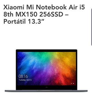 portátil Xiaomi de 13.3 i5
