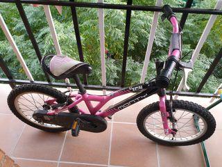 bicicleta niña monty