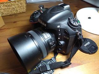 NIKON D600 con NIKKOR AF-S 50mm 1.8