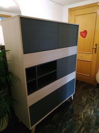 Aparador y mueble TV estilo escandinavo