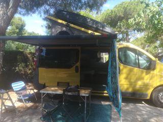 Furgoneta Camper Renault Trafic Larga