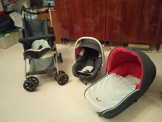 Cochecito bebé 3 piezas nurse