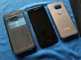 Samsung Galaxy S7 edge 32GB color negro ónix libre