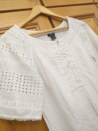 vestido blanco Sfera