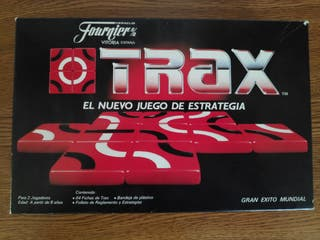 Trax juego de estrategia Fournier 1985
