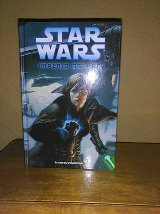 Comic Star Wars Imperio oscuro. Editorial Planeta