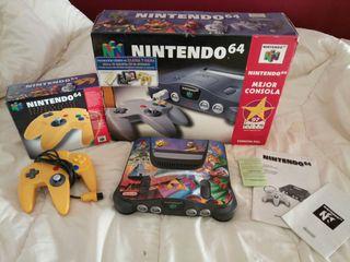 Nintendo 64 + mando