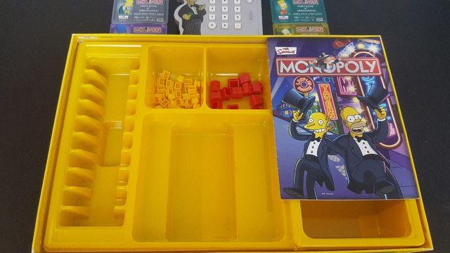 """Monopoly Los Simpsons Edición """"Cashless"""" 2006"""