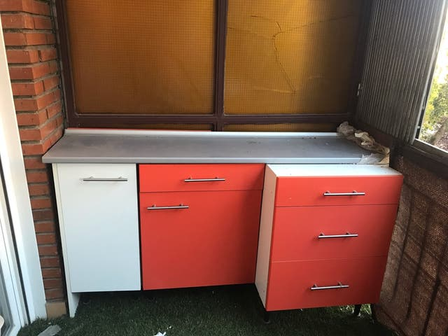 Mueble cocina y encimera de segunda mano por 130 € en ...
