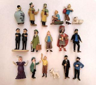 Colección de Figuras Tintín 17 piezas