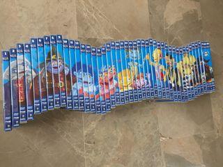 Colección completa x45 DVDs Los Lunnis