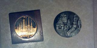 Medallas rusas gran tamaño
