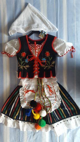 Traje típico de Canarias niña