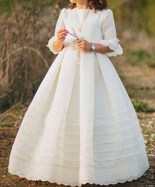 vestido comunion Rosa Clara