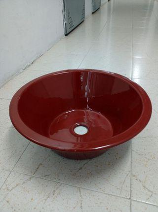 Lavabo o fregadero rústico vidriado