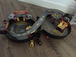 Parking rueda de juguetes lote de coches garage