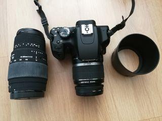 cámara de fotos reflex Canon EOS 1000D