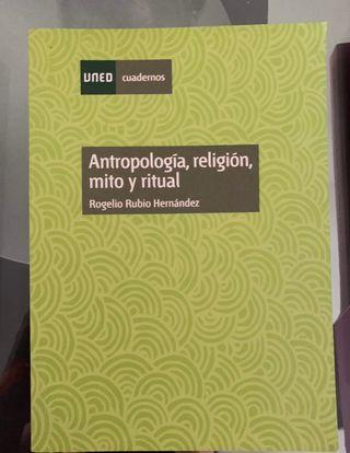 Libro Antropologia,religion... l Uned a estrenar